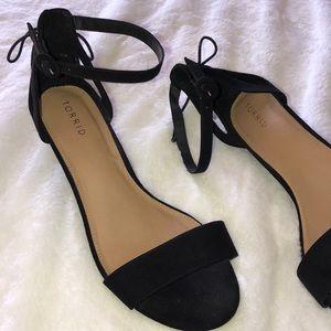 Torrid wedge sandals size 11W